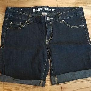 Mossimo JeanBermuda Shorts. Size 11(fits like a 9)